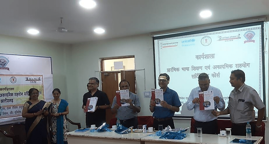 3-Month Course First Face to Face Workshop, 10th – 11th August, SCERT, Raipur