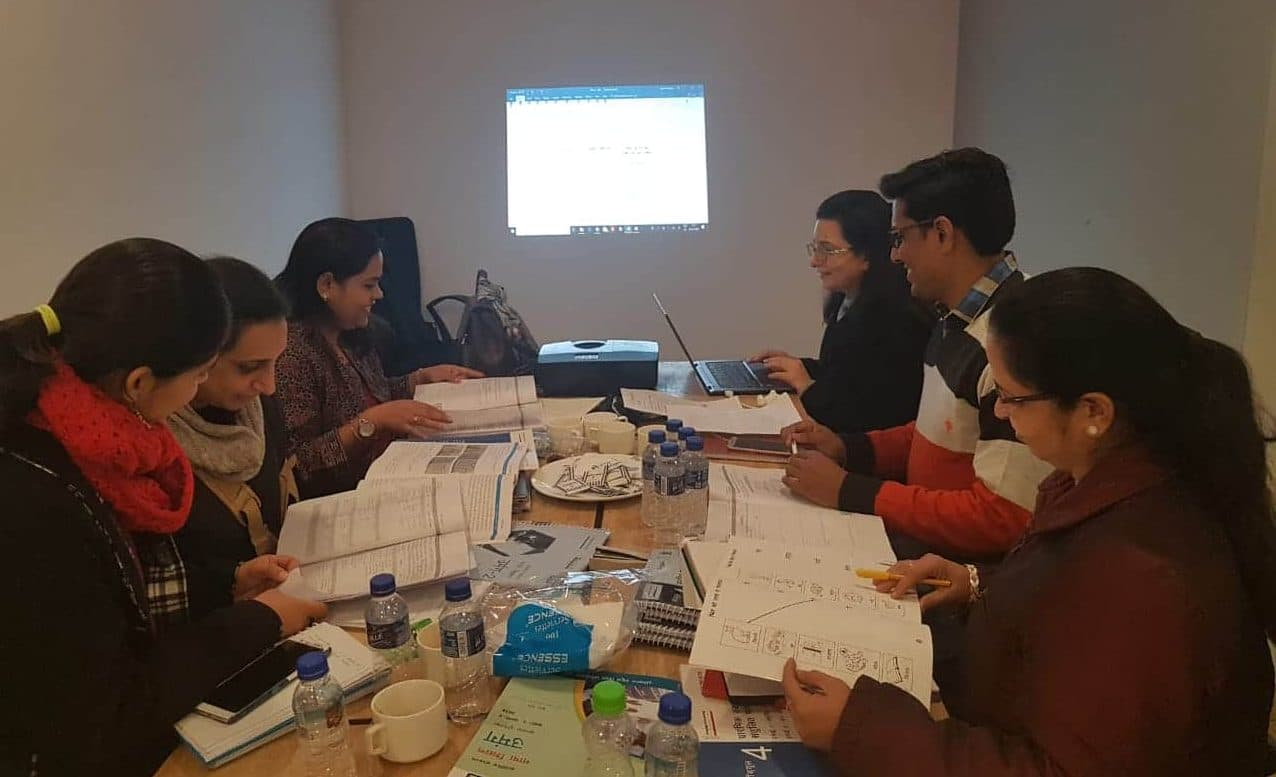 Final Workshop with Mentors of 9-month Course, 27th – 30th January, 2019, Delhi