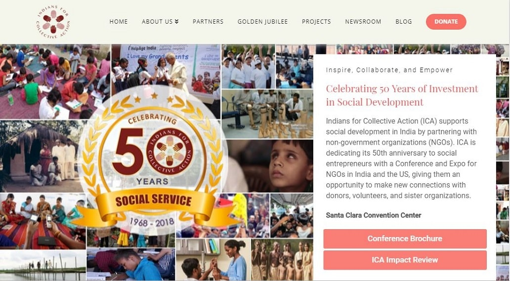 Collaboration with Indians for Collective Action